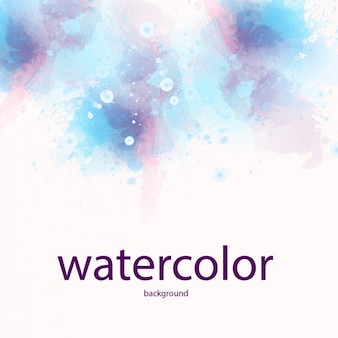 Aquarelle taches vector illustration