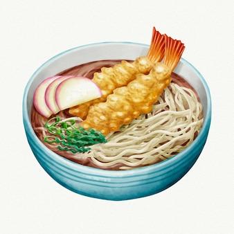 Aquarelle toshikoshi soba
