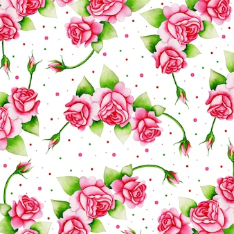 Aquarelle valentine elements background