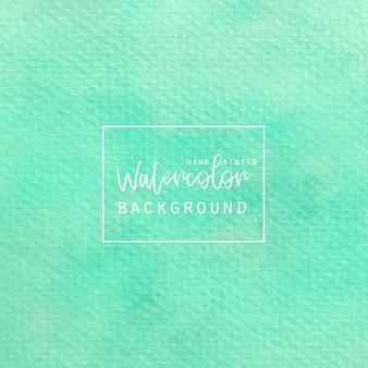 Aquarelle vert clair
