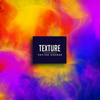 Aquarelle vibrant texture abstrait