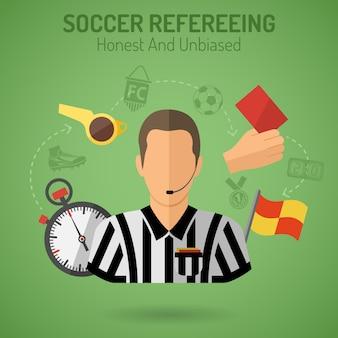 Arbitrage de football