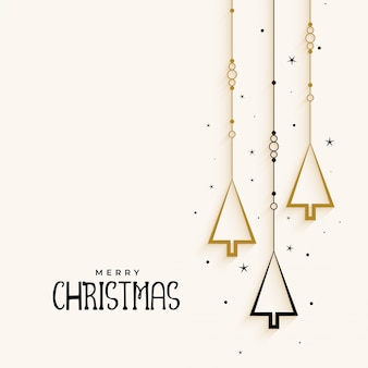 Arbre de Noël élégant fond élégant