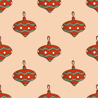 Arbre noël ornement motif fond décoration noël illustration vectorielle
