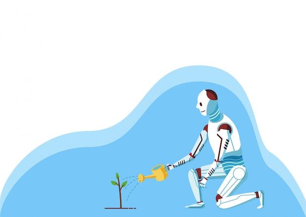 Arbre de plante robot