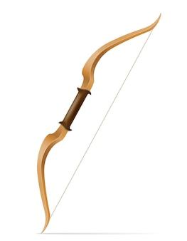 Arc avec des flèches pour tirer