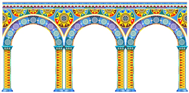 Arc lumineux du palais oriental