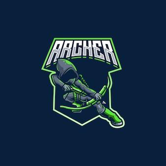 Archer cible flèche arc tir à l'arc