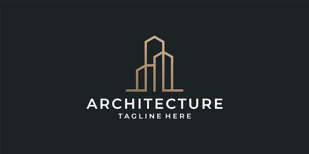 Architecture monogramme de luxe