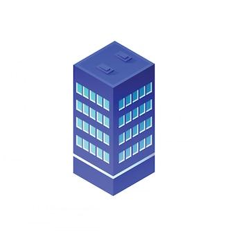 Architecture urbaine isométrique
