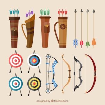 Les arcs et les flèches