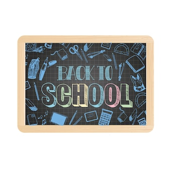 Ardoise d'école