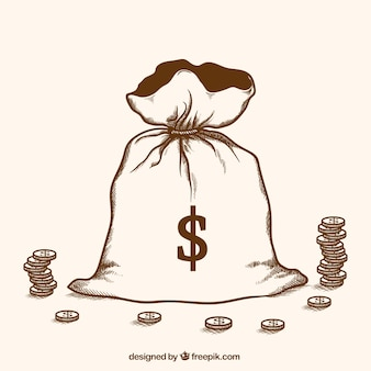 L'argent du cambriolage tiré à la main