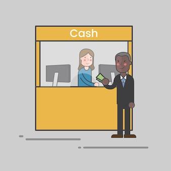 Argent graphique entreprise banque icône commerce