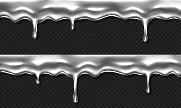 Argent liquide dégoulinant