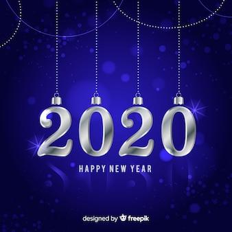 Argent nouvel an 2020