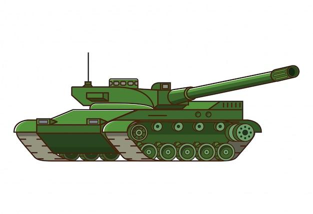 Arme de char militaire