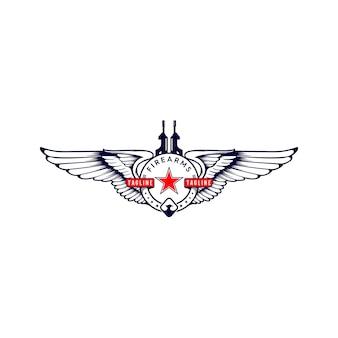 Armes à feu d'aile