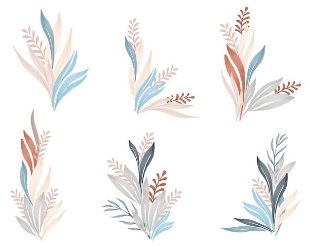 Arrangement de couleurs pastel wildplant
