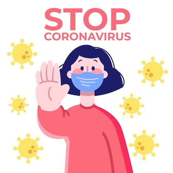 Arrêter le concept de coronavirus
