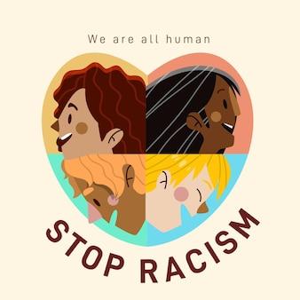 Arrêter le concept de racisme