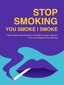 Arrêter de fumer illustration illustration.