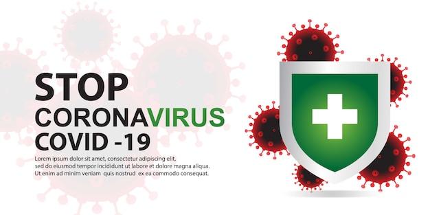 Arrêter un nouveau virus avec bouclier