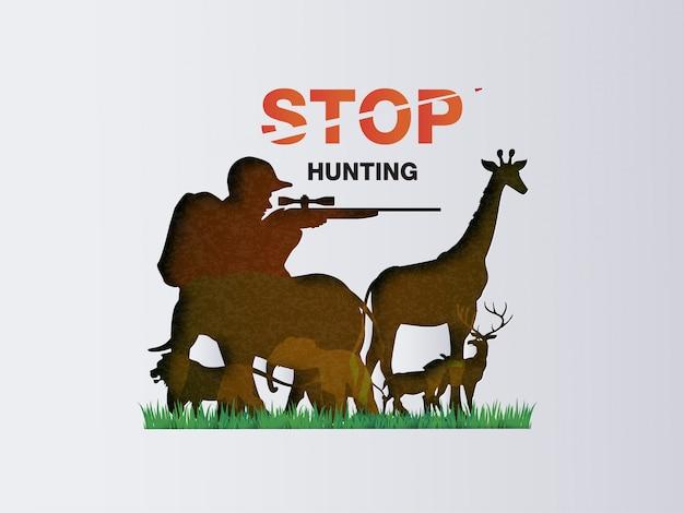 Arrêtez de chasser les animaux