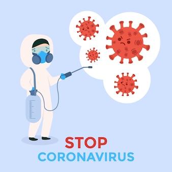 Arrêtez le coronavirus