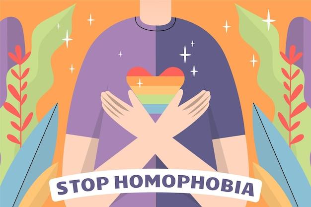 Arrêtez l'homophobie