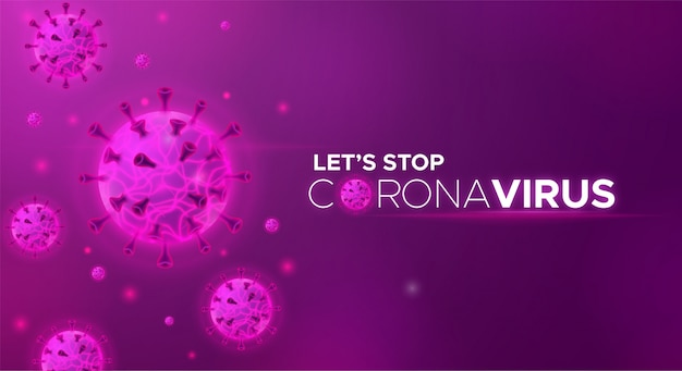 Arrêtons l'éclosion de coronavirus covid19 et le risque de pandémie pour la santé