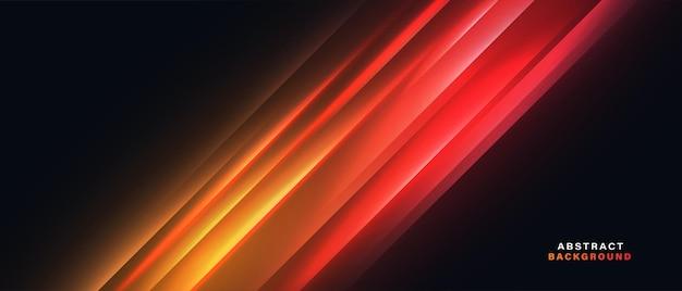 Arrière-plan abstrait de mouvement de vitesse de la lumière au néon