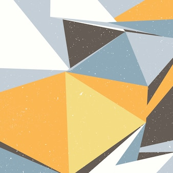 Arrière-plan d'art de style scandinave moderne