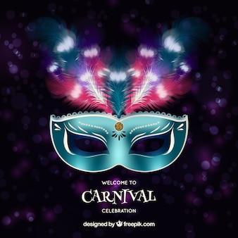 Arrière-plan de carnaval réaliste