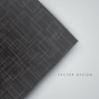 Arrière-plan avec circuit gris