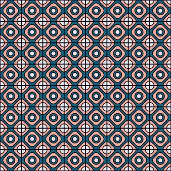 Arrière-plan avec circulaires et carrés formes