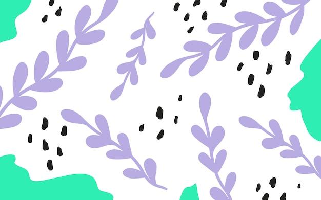 Arrière-plan coloré style géométrique memphis