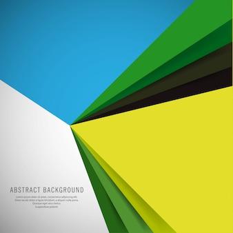 Arrière-plan coloré vague abstrait