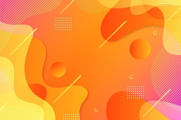 Arrière-plan de conception abstraite colorée