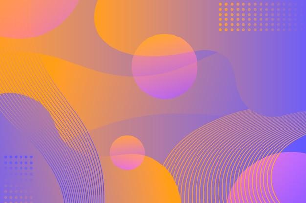 Arrière-plan de conception abstraite avec des lignes