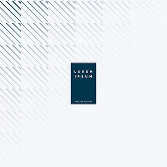 Arrière-plan de conception abstraite modèle ligne