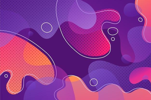 Arrière-plan de conception abstraite avec des points