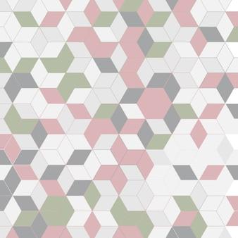 Arrière-plan de conception abstraite de style scandinave