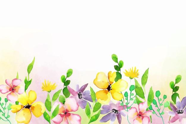 Arrière-plan de conception florale