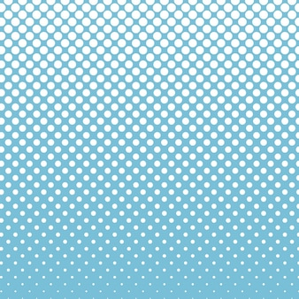 Arrière-plan de conception de vecteur de points de demi-teintes cercle bleu