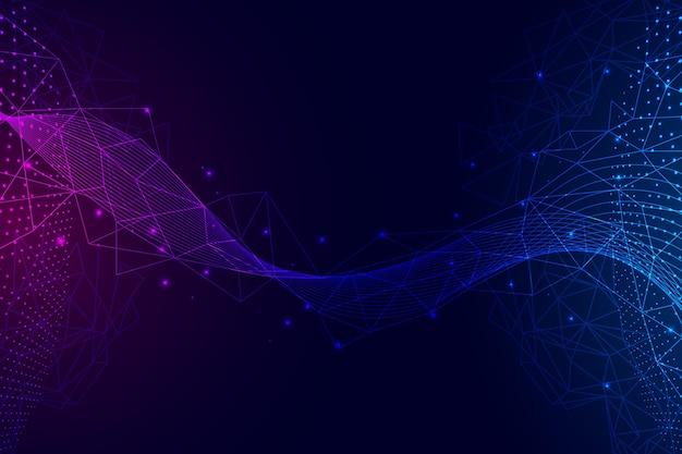 Arrière-plan de connexion réseau