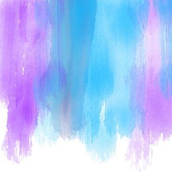 Arrière-plan avec des coups de pinceau d'aquarelle