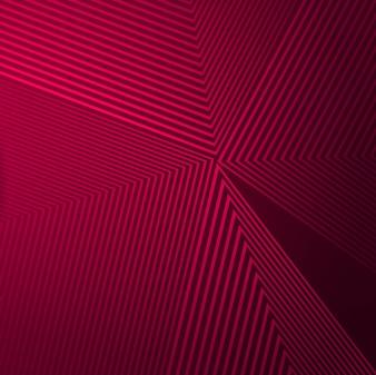 Arrière-plan de lignes géométriques colorées abstraites