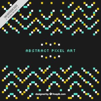 Arrière-plan décoratif avec des pixels