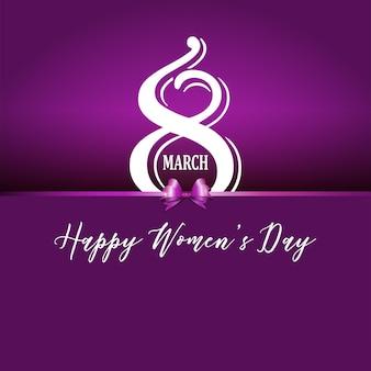 Arrière-plan décoratif pour la journée internationale de la femme